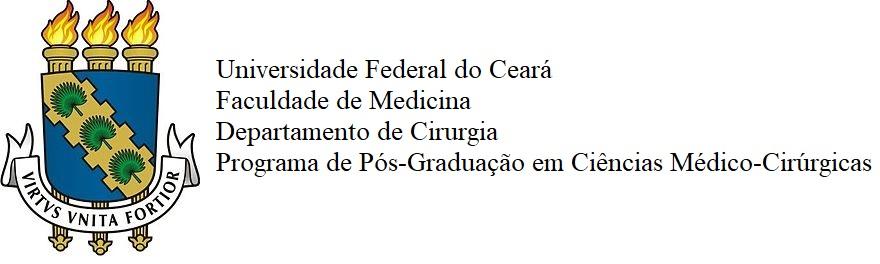 Programa de Pós-Graduação em Ciências Médico-Cirúrgicas